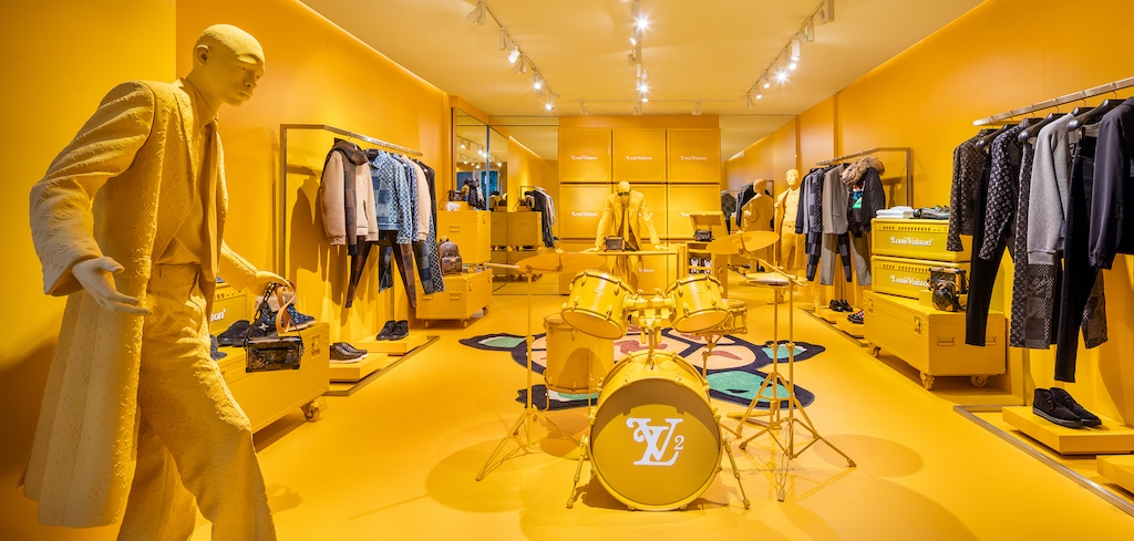 Merchandising Tips Spring - Louis Vuitton - Virgile Abloh - Soho